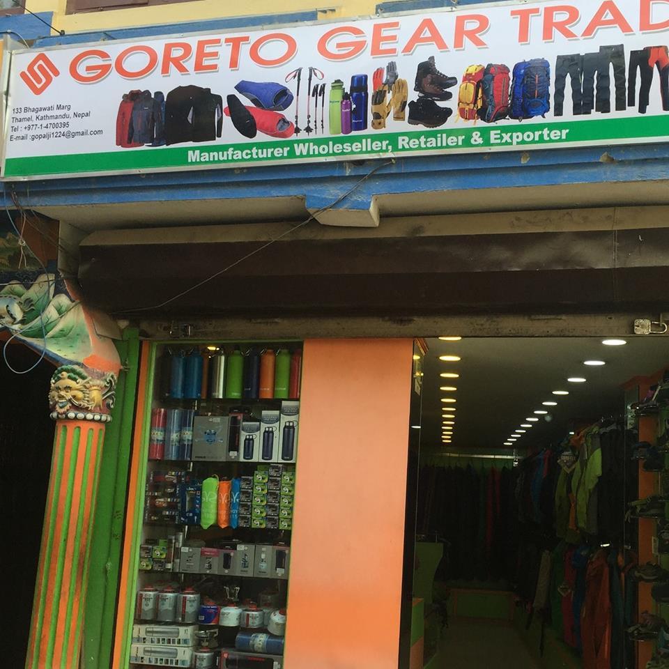 trekking gear buy or rent