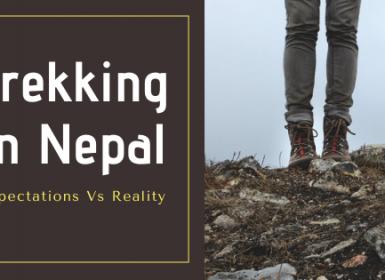 trekking in nepal exp vs reality