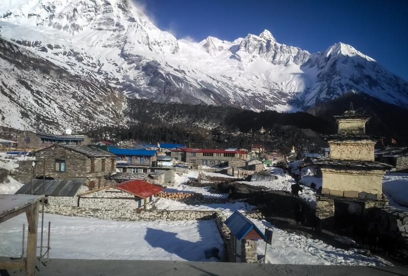 A very picturesque village dedicated to yak herding, Samdo village