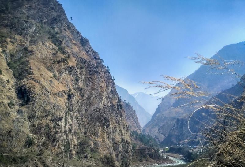 Bypassing Bamboo Forests to Reach Deng Khola