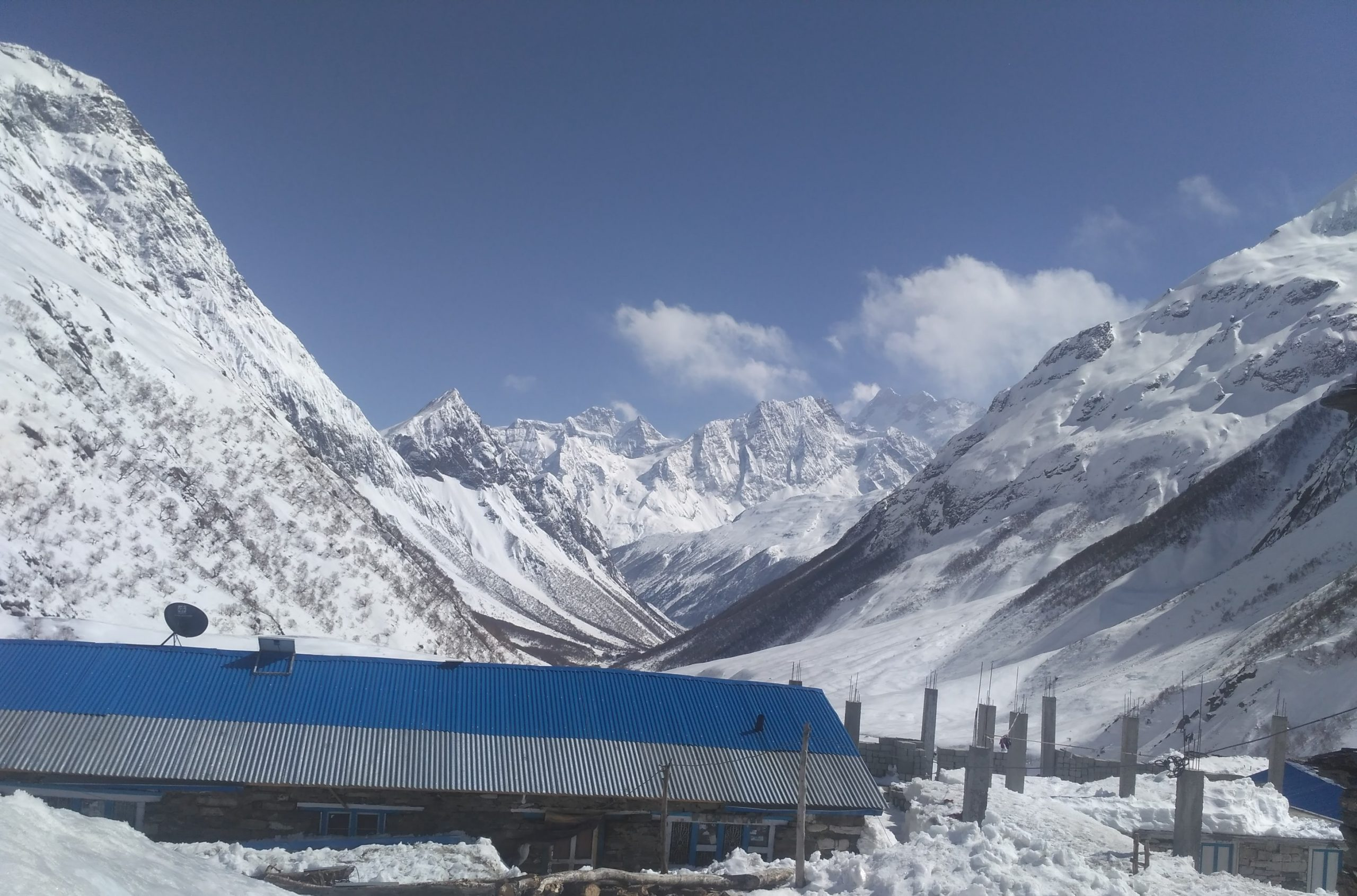 the picturesque Bimthang village