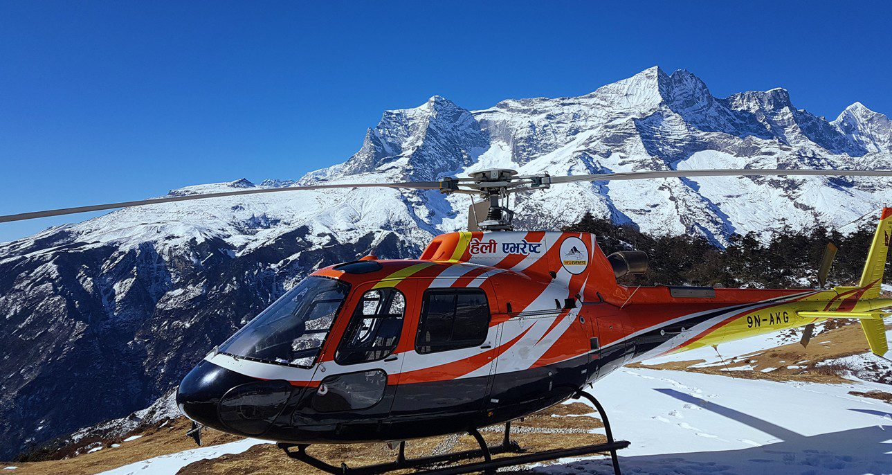 Everest Base Camp Treak - Heli trek