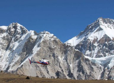 Everest Base camp helicopter landing tours